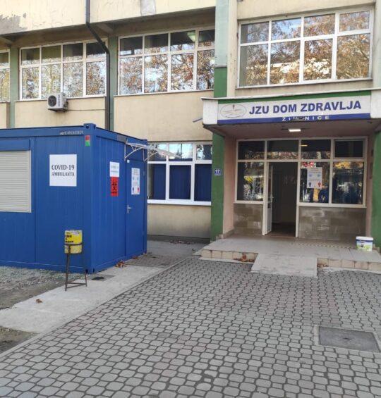 COVID 19 ambulanta na području grada Živinice